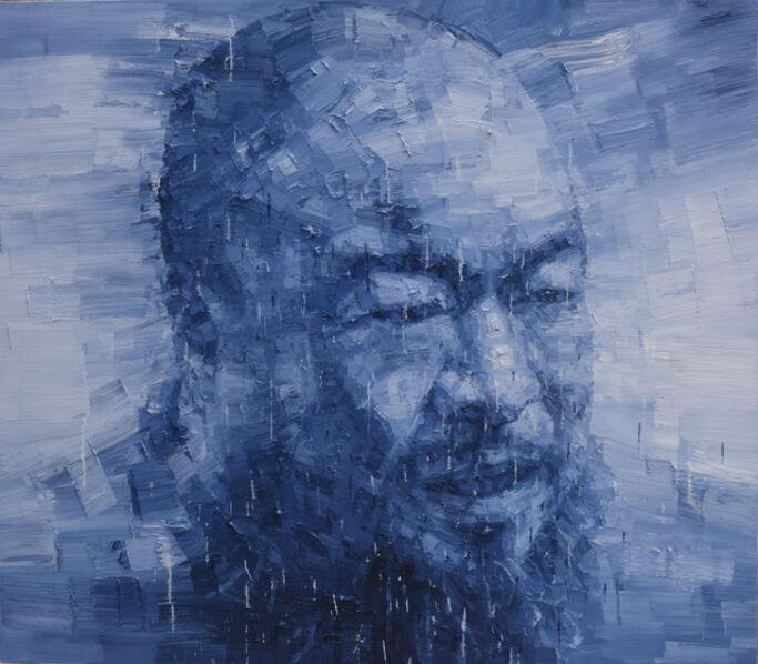 Adam Chang, 'Portrait of Ai Weiwei A', 2015