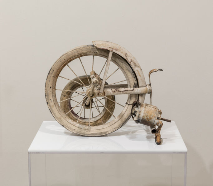 Jean Tinguely, ''Wheels' fragment', 1960