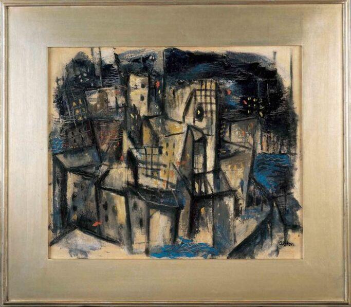 Charles Alston, 'New York Cityscape', ca. 1948