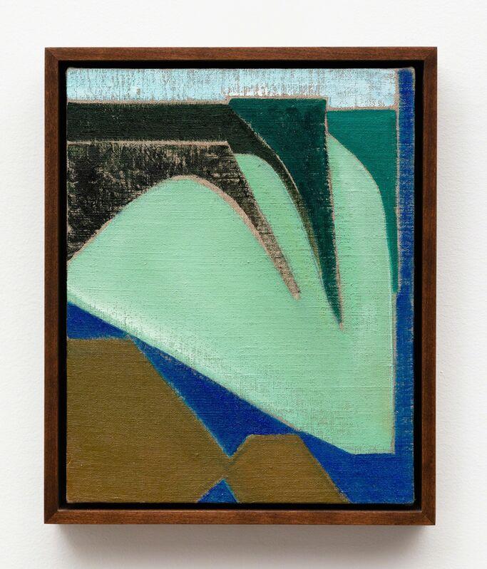 Kristine Moran, 'Crystal Crag', 2018, Painting, Oil on linen, Daniel Faria Gallery