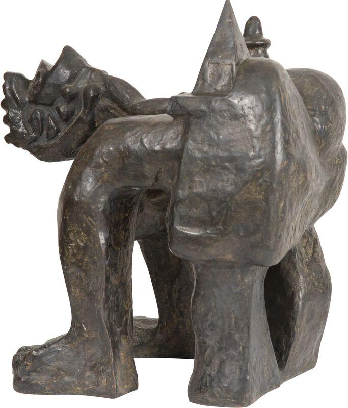 André Masson, 'Femme Servant de Table', 1986-1987, Sculpture, Bronze, Heritage Auctions
