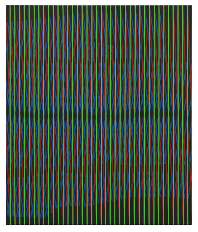 Klaus Jörres, 'o.T. ', 2019, Painting, Acrylic on canvas, DITTRICH & SCHLECHTRIEM