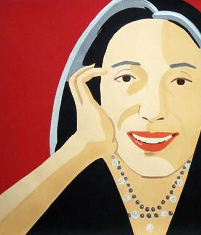 Alex Katz, 'Red Ada', 2010, Painting, Woodcut, Caviar20