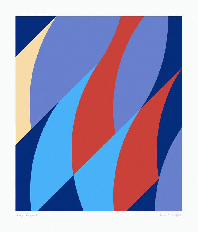 Bridget Riley, 'Large Fragment I', 2006, Print, Screenprint on wove paper, Hoxton Gallery