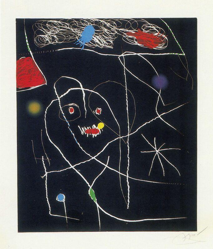 Joan Miró, 'El Pi de Formentor - Arbre Sublim', 1976, Print, Etching, aquatint and carborundum, Galeria Joan Gaspar