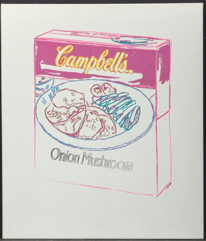 Andy Warhol, 'Campbell's Soup Box Onion Mushroom', 1986, Painting, Acrylic and silkscreen ink on canvas, Heritage Auctions
