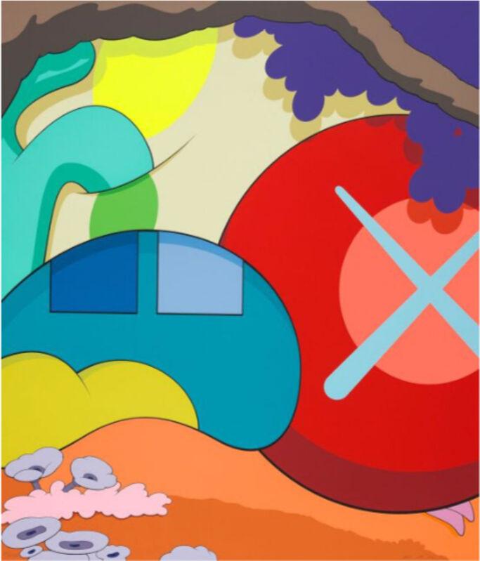 KAWS, 'You Should Know I Know', 2015, Print, Screen print, Arushi Arts