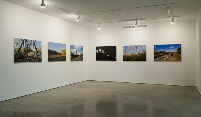 Mariam Ghani: The City & The City, installation view