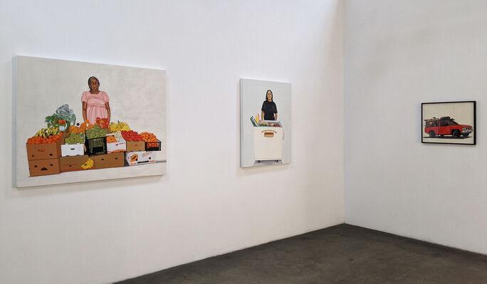Soy Lo Que Representa Mi Trabajo, installation view