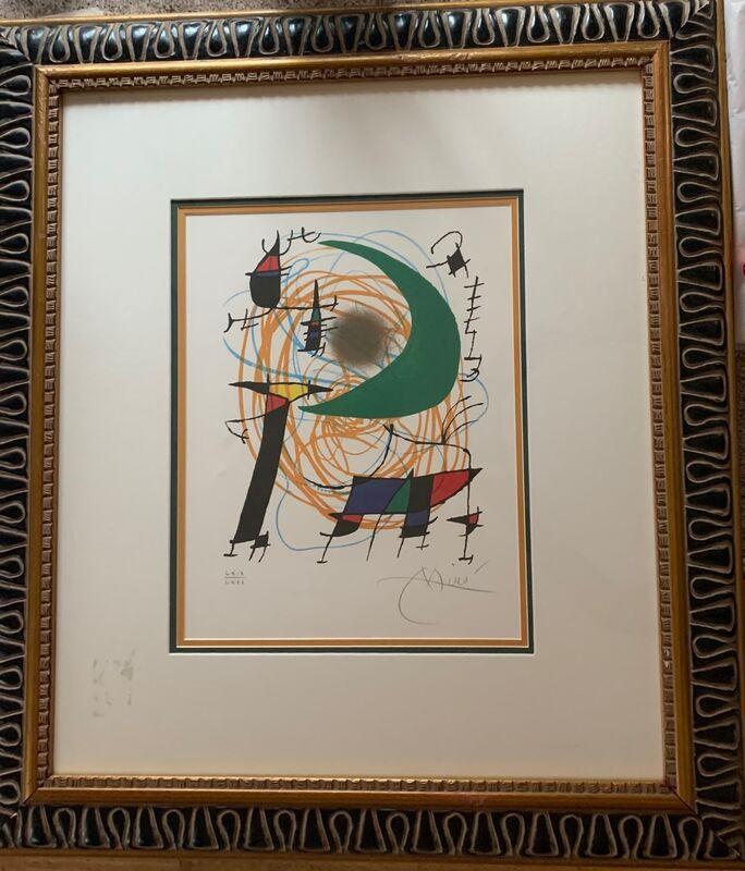 Joan Miró, 'Green Moon', 1972, Print, Lithograph, Leviton Fine Art