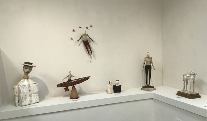 Cathy Rose: Open, installation view