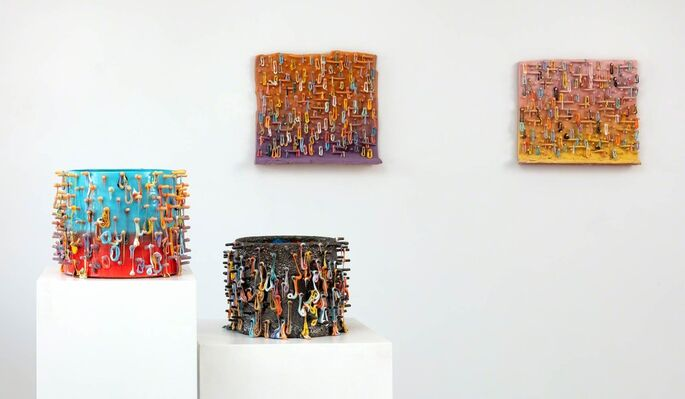 LAUREN MABRY: Fused, installation view