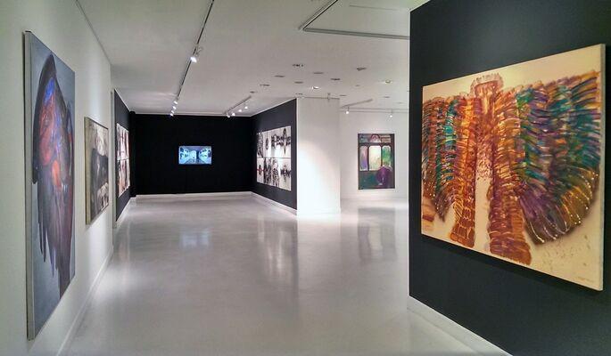 "Bilge Alkor ""Horizons of Memory"", installation view"