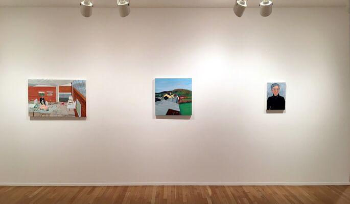 Sarah McEneaney, installation view