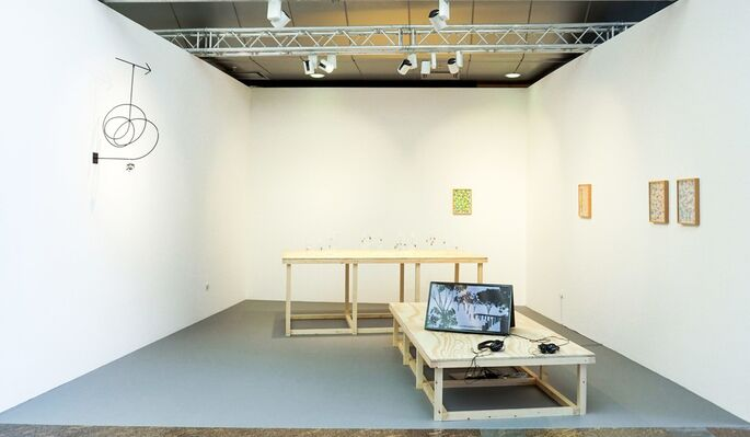 Tenderpixel at ArtInternational 2015, installation view