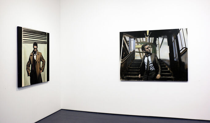 Christopher Thompson | Urban Portraits, installation view