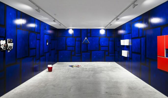 THE BASEMENT | Harry Meadley | LEVEL 1, installation view