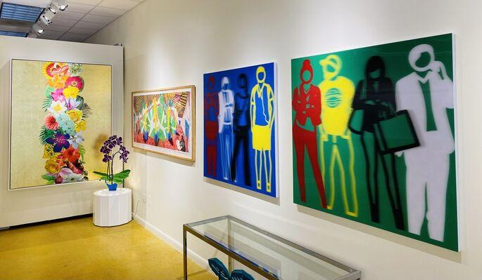 Vertu Fine Art at Palm Beach Modern + Contemporary     Art Wynwood, installation view