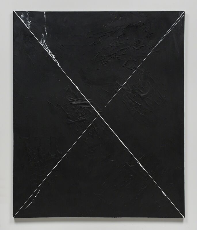 Brenna Youngblood, 'X', 2015, Mixed Media, Paper and acrylic on canvas, Seattle Art Museum