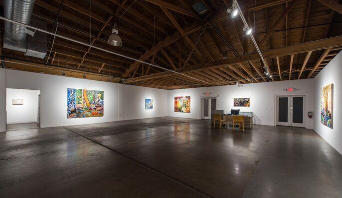 Jim Waid: Terra Incognita, installation view