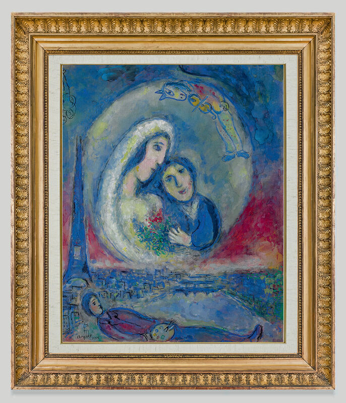 Marc Chagall, 'La Songe ', 1978, Painting, Oil on canvas, Opera Gallery