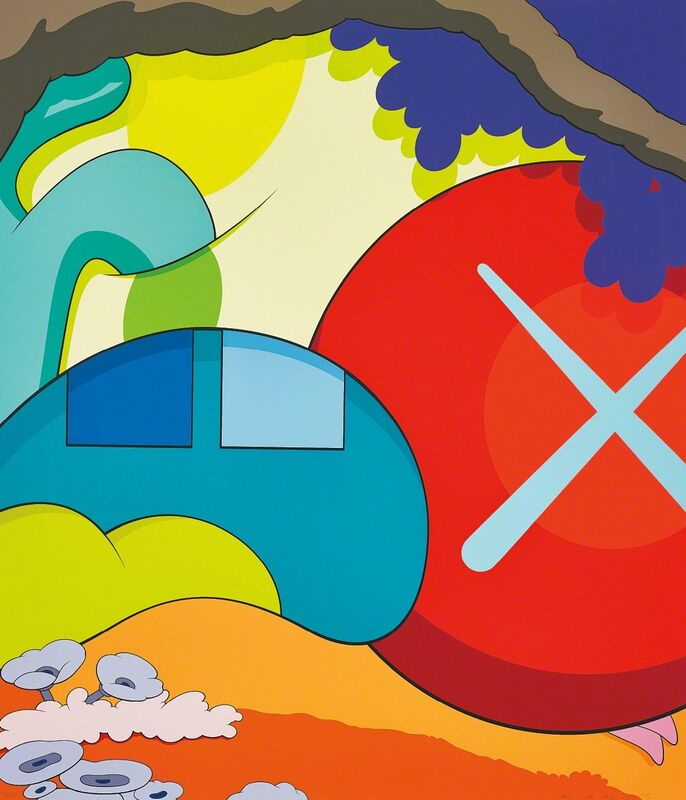 KAWS, 'You Should Know I Know', 2015, Print, Screenprint in colours, on wove paper, the full sheet., Phillips