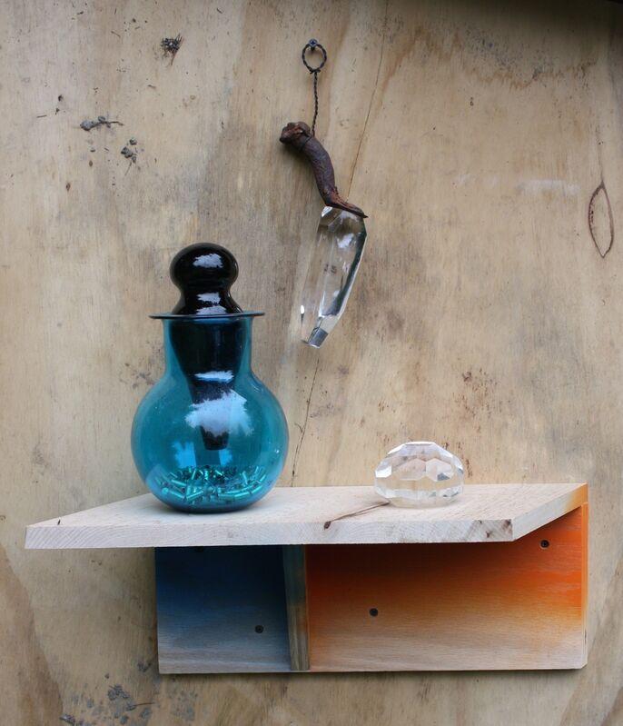 Elias Hansen, 'Untitled', 2013, Sculpture, Found object, glass, screws, wire, wood, Jonathan Viner
