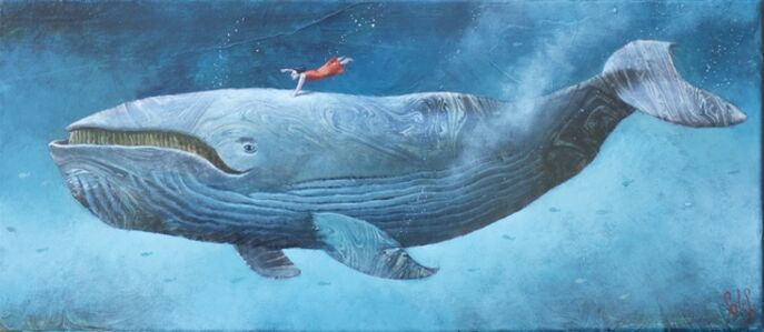 Sylvain Lefebvre, 'S.D.W n°10 : Catherine with the right white whale', 2020