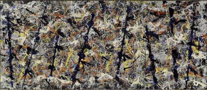 Jackson Pollock, 'Blue poles', 1952