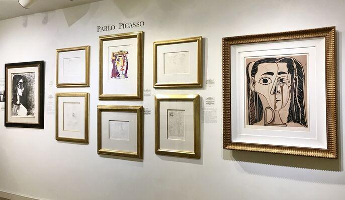 Spanish Masters, installation view
