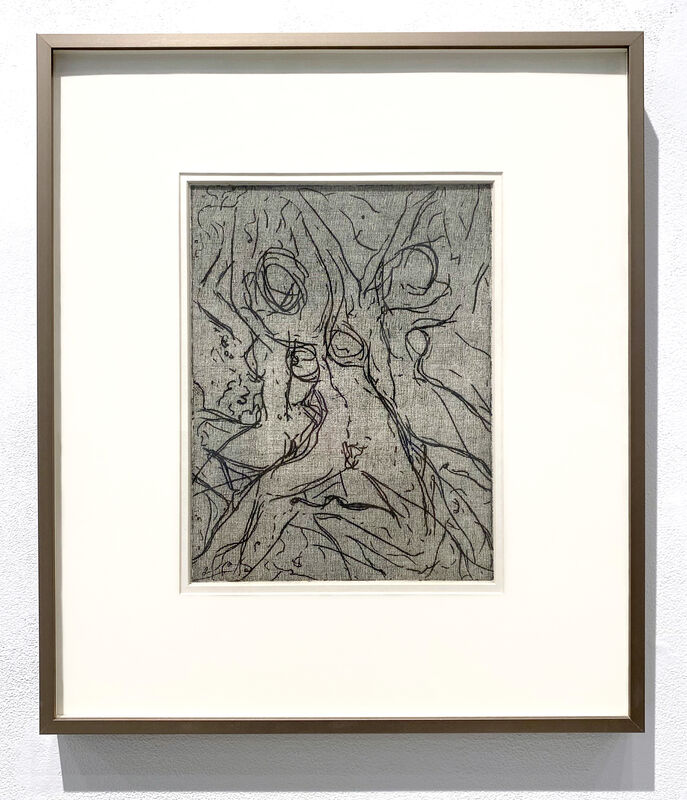 Indira Cesarine, 'Multifaceted', 1993, Drawing, Collage or other Work on Paper, Intaglio Ink on Cotton Paper, The Untitled Space