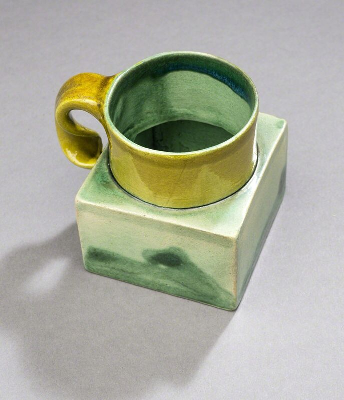 Ken Price, 'Untitled (Mezcal Cup with Square Base)', ca. 1980, Sculpture, Glazed & painted ceramic, Aaron Payne Fine Art