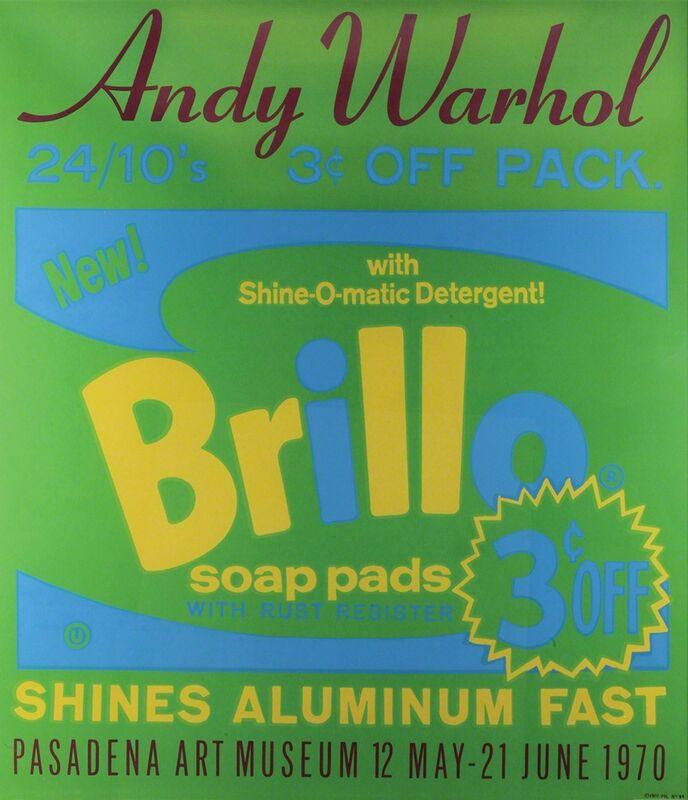 Andy Warhol, 'Brillo - Pasadena Art Museum', 1970, Print, Colored serigraphy, Bertolami Fine Arts