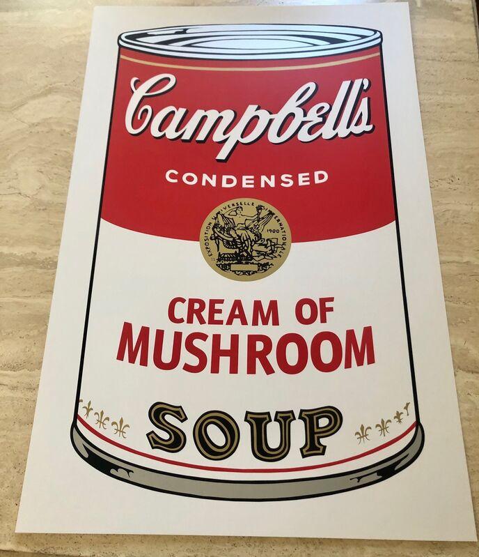 Andy Warhol, 'Campbells Cream of Mushroom Soup', 1962, Print, Serigraph, Leviton Fine Art