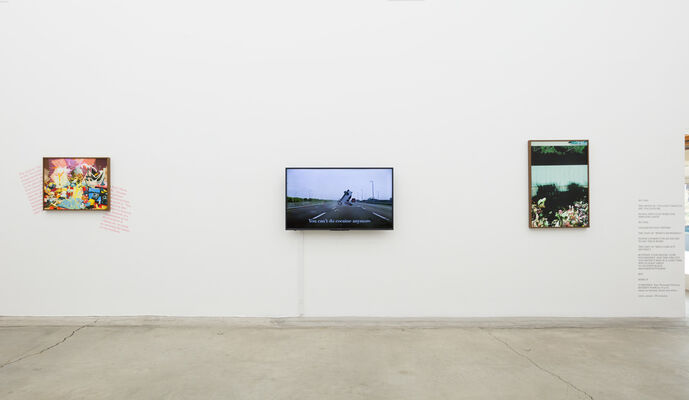 You Don't Have To Say You Love Me, installation view