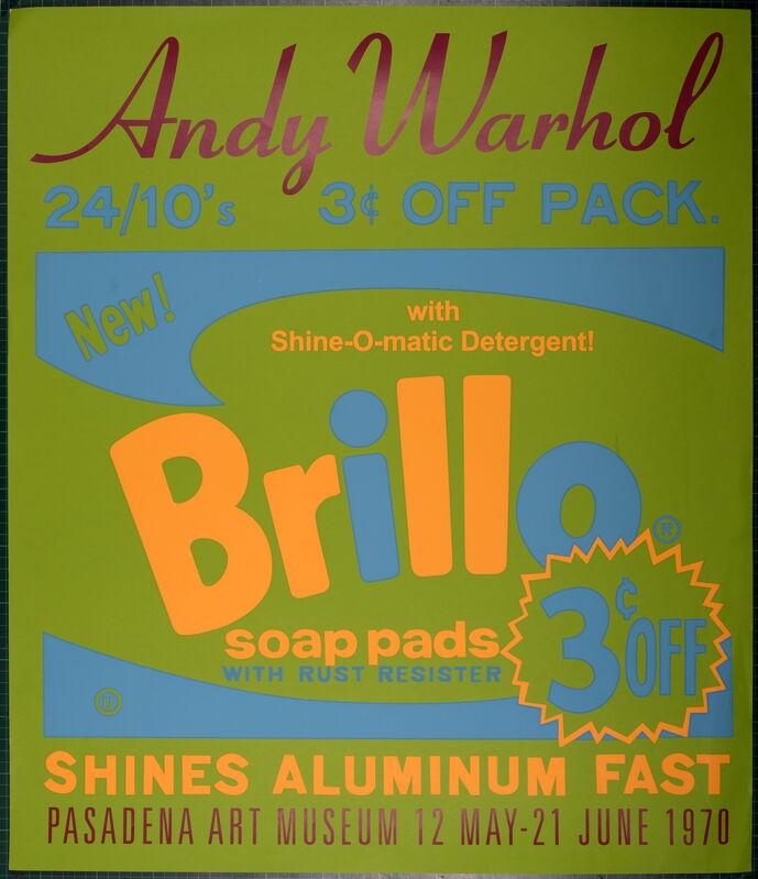 Andy Warhol, 'Brillo', 1970, Print, Original Silkscreen Poster, NCAG