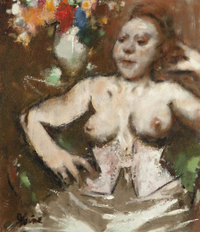 Jack Levine, 'Lady Would Be', 1915-2010, Painting, Oil on canvas, ACA Galleries