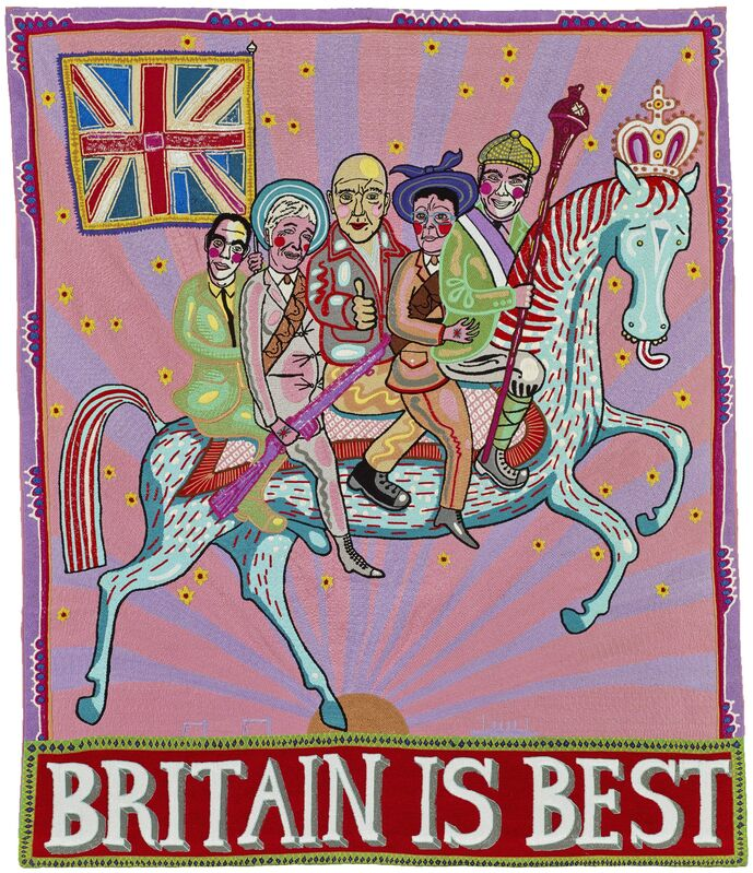Grayson Perry, 'Britain is Best', 2014, Mixed Media, Embroidery, Paragon