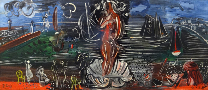 Raoul Dufy, 'Amphitrite', 1938