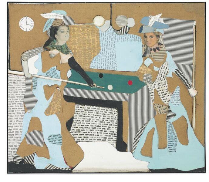 Conrad Marca-Relli, 'The Pool Game', 1981