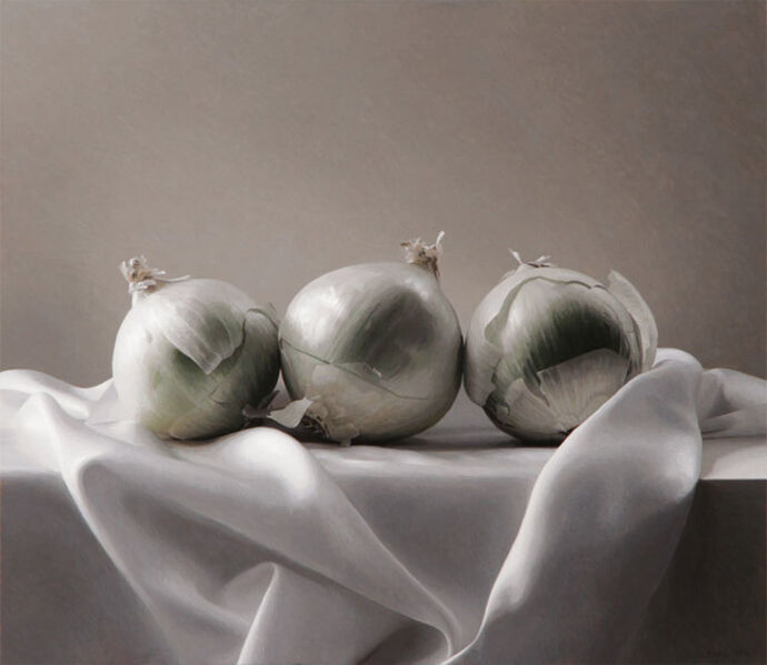 Richard Thomas Davis, 'Three White Onions', 2015