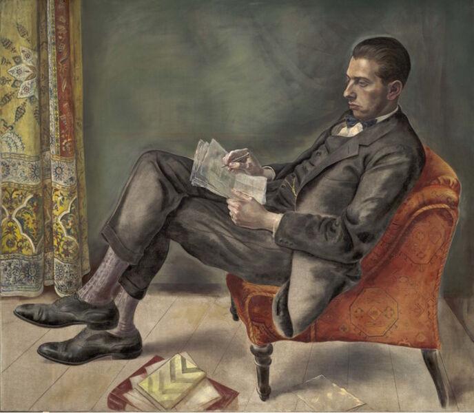 Georg Scholz, 'Portrait of Dr. Felix J. Weil (Bildnis Dr. Felix J. Weil) ', 1926