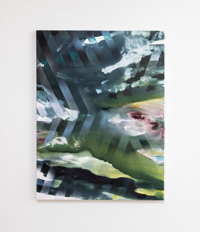 Michelle Jezierski, 'Whisper', 2019, Painting, Acrylic and oil on canvas, Galerie Wolfgang Jahn