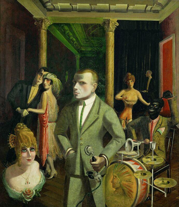 Otto Dix, 'To Beauty (An die Schönheit)', 1922, Painting, Oil on canvas, Art Resource