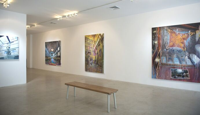 ROOT ROT: CHRIS BARNARD with works by Michael Angelis, installation view