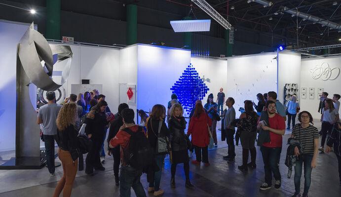 Del Infinito at arteBA 2018, installation view