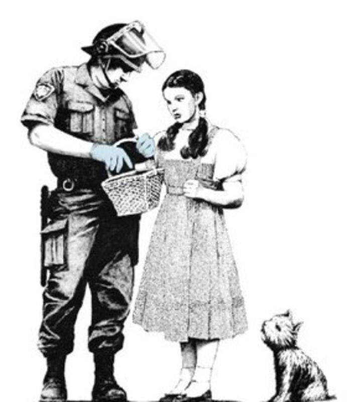 Banksy, 'Stop and Search', 2007, Print, Screenprint on paper, MoonStar Fine Arts Advisors