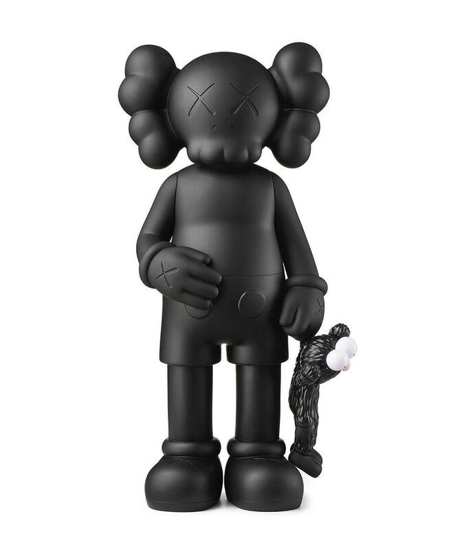 KAWS, 'Share Vinyl Figure Black', 2020, Sculpture, Painted Vinyl, ArtLife Gallery