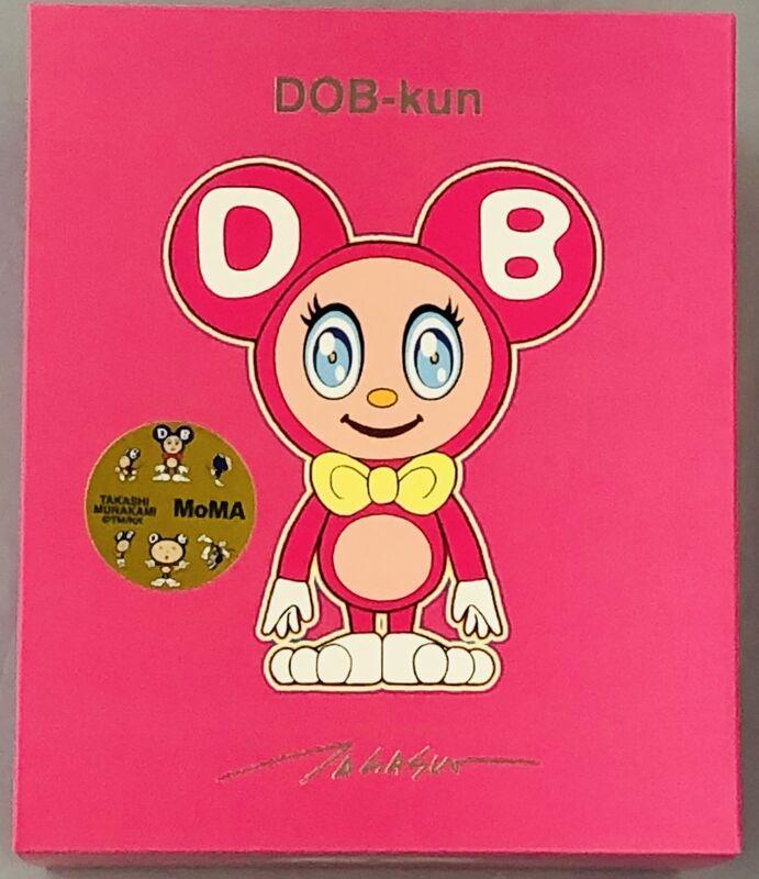 Takashi Murakami, 'Takashi Murakami DOB-kun Figure (Murakami Fuchsia DOB-kun)', 2019, Sculpture, Vinyl cast resin figure, Lot 180
