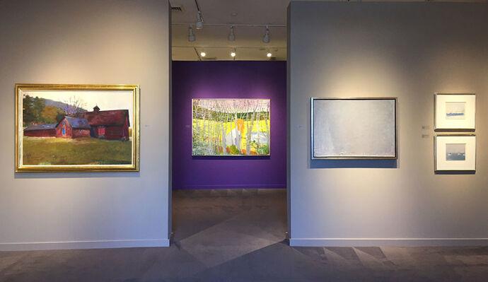 Wolf Kahn: A 50 Year Survey, installation view